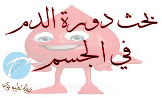 بحث حول دورة الدم في الجسم