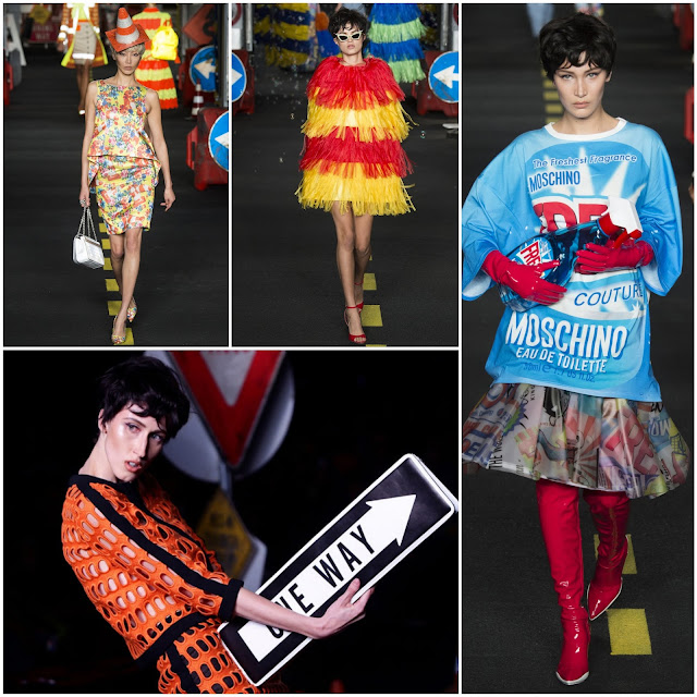 RUNWAY REPORT.....Milan Fashion Week Spring 2016: Moschino Spring/Summer 2016: Pics + Full Runway Video