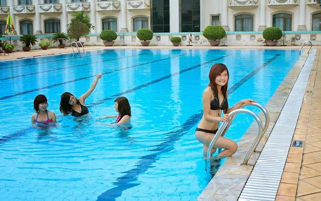 Bể bơi ngoài trời VOV