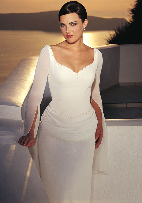 Wedding Dresses With Soft Sleeves From Spring 2012 Bridal