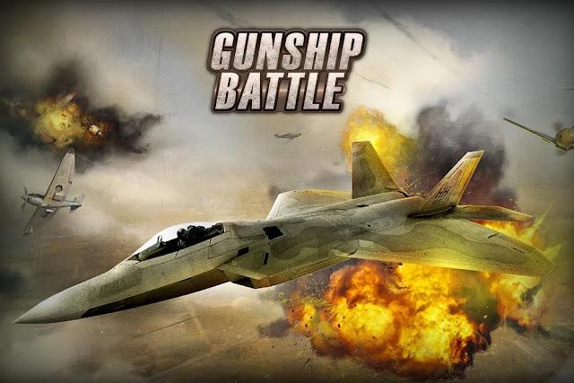 حمل الان افضل لعبة طائرات حربيه  3D على هاتفك الاندرويد  gunship battle
