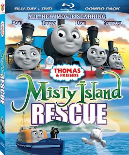 Thomas y sus Amigos: Rescate de la Isla Misteriosa [BD25] *Con Audio Latino