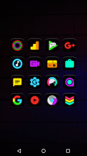 Neon Glow - Icon Pack v4.9.0