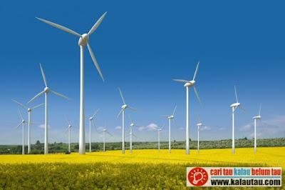 kalautau.com - aliran udara dalam jumlah yang besar diakibatkan oleh rotasi bumi