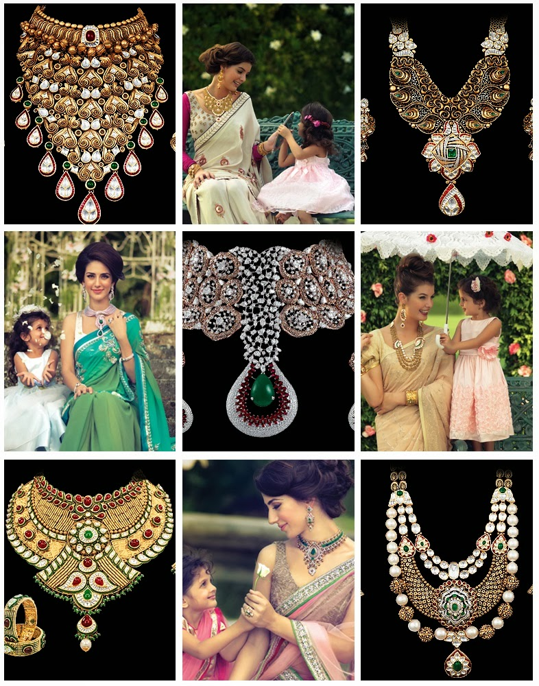 Indian gold jewellery shop