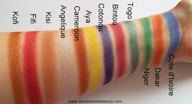 Juvia's Place Afrique Palette Review & Swatches