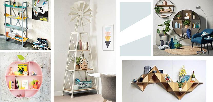 Marzua estanter as originales para decorar su hogar for Estanterias originales