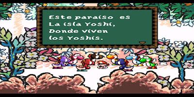 Super Mario World 2: Yoshi's Island [Español] - Captura 1