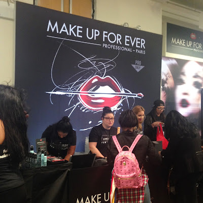 Make Up For Ever at The Makeup Show New York 2016 - www.modenmakeup.com