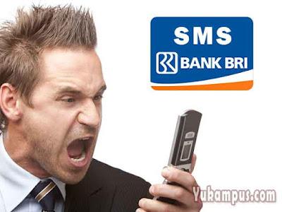cara mengganti nomor sms banking bri