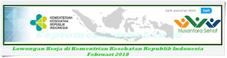 Lowongan Kerja di Kementrian Kesehatan Republik Indonesia Terbaru 2018