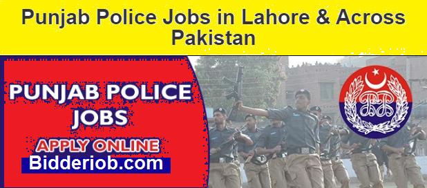 Pakistan Govt Punjab Police Jobs - Latest New Jobs 2021