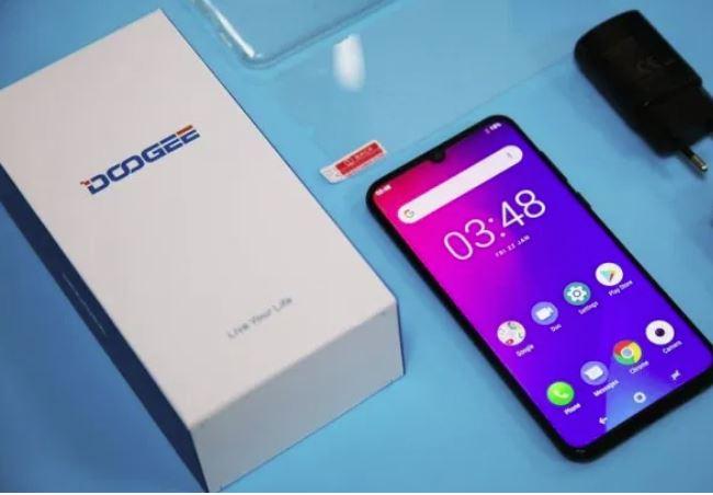 smartphone Doogee N20