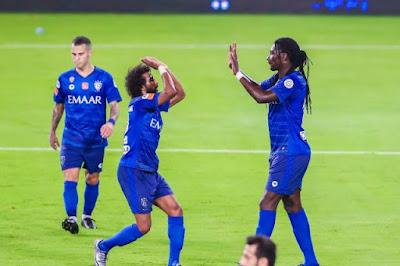 ملخص واهداف مباراة الهلال وباختاكور (2-1) دوري ابطال اسيا