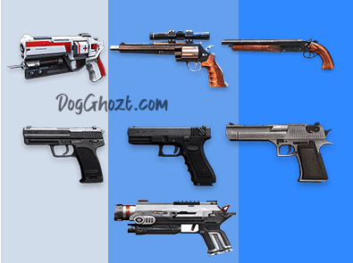 Spesifikasi Pistol default Free Fire 2021
