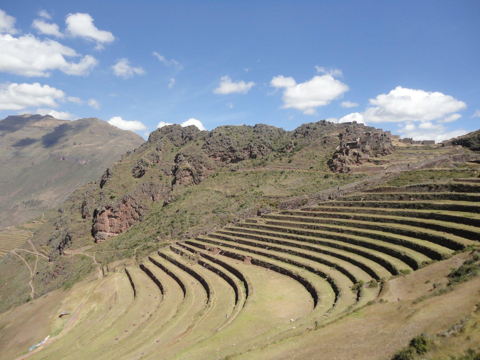 Deaquípallá Terrazas De Cultivo Del Siglo Xiv Pisaq Valle