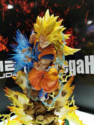 Goku Super Saiyan 3 (cabezas intercambiables) - Dragon Ball