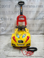 Ride-on Car Yotta Toys Sang Pengejar Seri Meteor