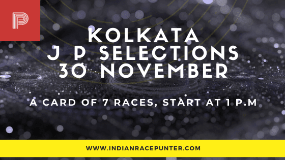 Kolkata Jackpot Selections 30 November