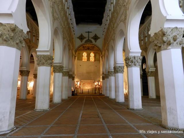 Sinagoga de Santa María la blanca, barrio judío de Toledo