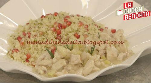 La Cuoca Bendata - Cous cous al pollo e melograno ricetta Parodi