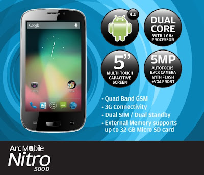 Arc Mobile Nitro 500D