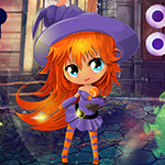 Games4King - G4K Lovely Witch Girl Escape Game