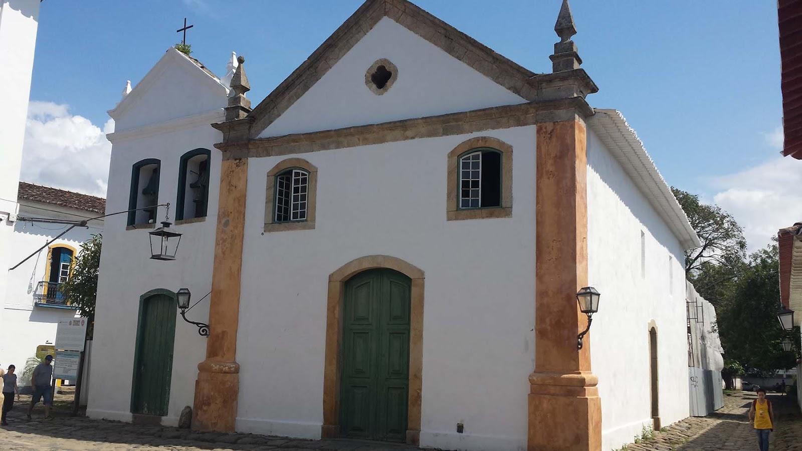 Igreja Nossa Senhora do Rosario e São Benedito, Paraty.