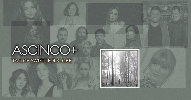 As Cinco+ de Taylor Swift - Folklore