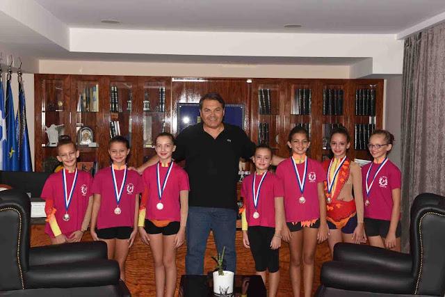 Συγχαρητήρια του Δημάρχου Άργους Μυκηνών στα «χάλκινα» κορίτσια του Διαγόρα