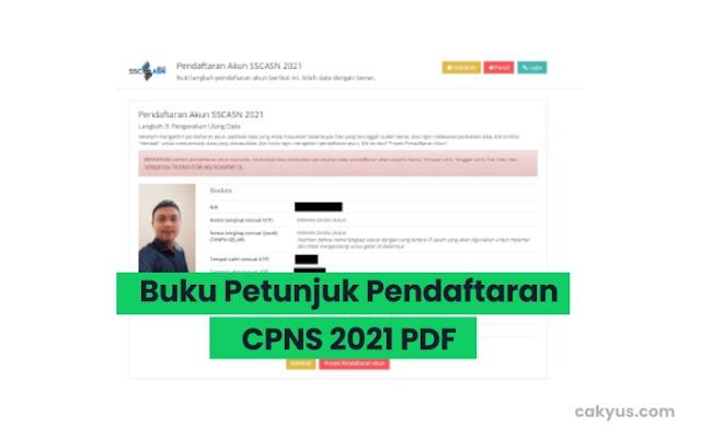 Berkas dan Alur Pendaftaran CPNS 2021