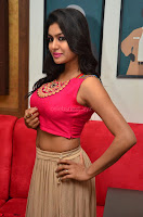 Akshita super cute Pink Choli at south indian thalis and filmy breakfast in Filmy Junction inaguration by Gopichand ~  Exclusive 081.JPG