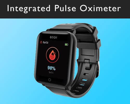 GOQii Smart Vital Fitness Watch : Oxygen level calculate