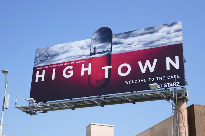 Hightown series premiere billboard