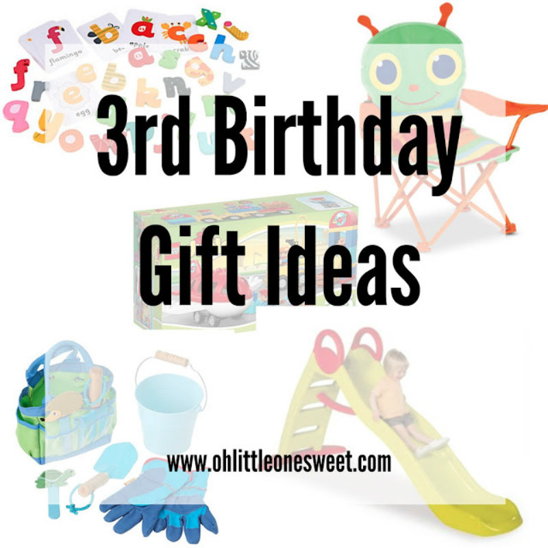 Birthday Gift Ideas For A 3 Year Old