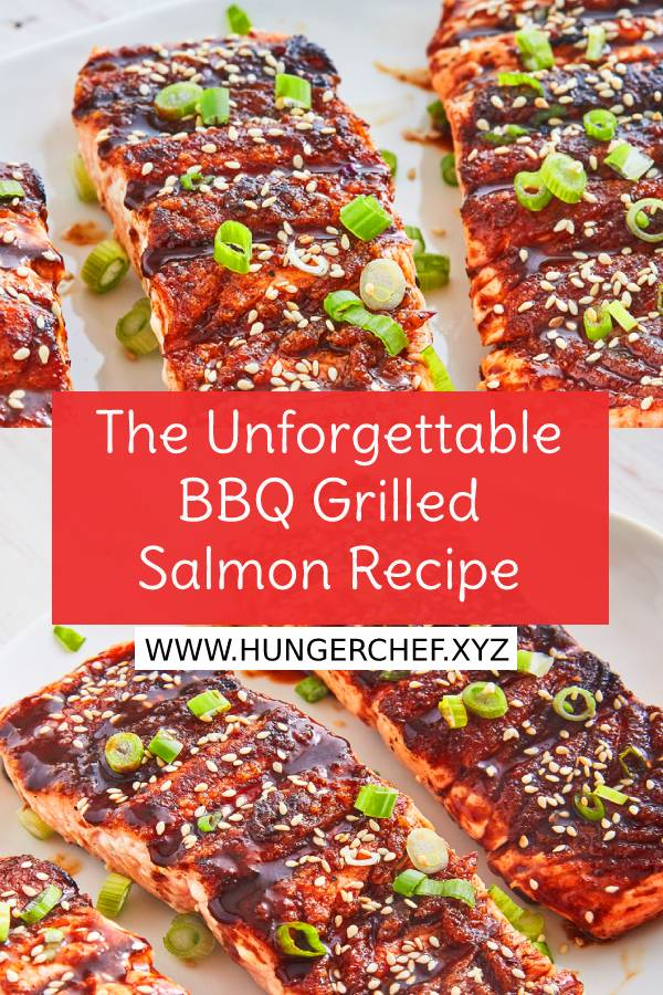 The Unforgettable BBQ Grilled Salmon Recipe - This spicy Asian glaze will make you forget all about regular BBQ sauce. #bestasianrecipe #asianrecipe #bbq #bbqrecipe #bestrecipe #easydinnerrecipe #easysummerrecipe #summerrecipe #summerdinner #dinner #dish #maindish #maincourse #bestsummerrecipe #grilled #salmon #seafood #grilledsalmon