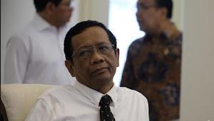 Mahfud Mengataka : Mungkin Keliru Ketik,Saat Omnibus Law Sebut Jokowi Bisa Ubah UU Via PP