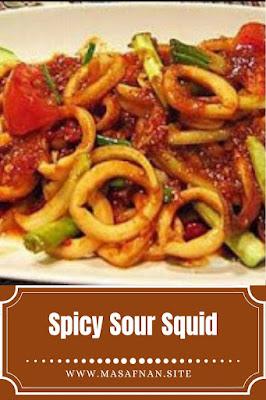 Spicy Sour Squid