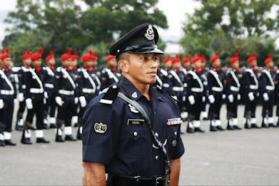 bidang tugas polis dan skop kerjanya