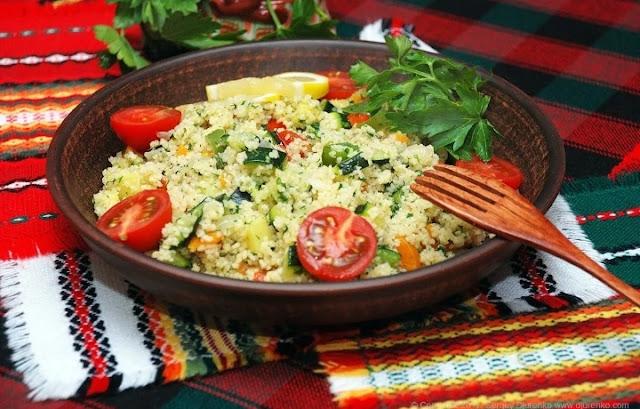 Кус-кус с овощами рецепт-картинка