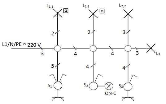 Lokasi jendela ilmu terdekat sistim pengaturan penerangan saklar seri diagram pengawatan ccuart Choice Image