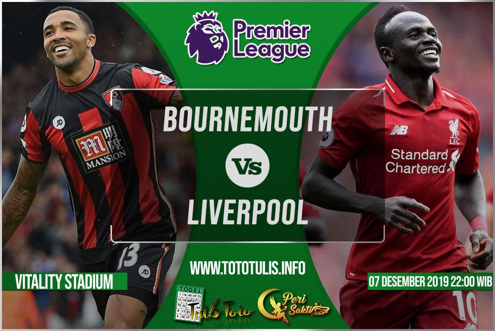 Prediksi Bournemouth vs Liverpool 08 Desember 2019