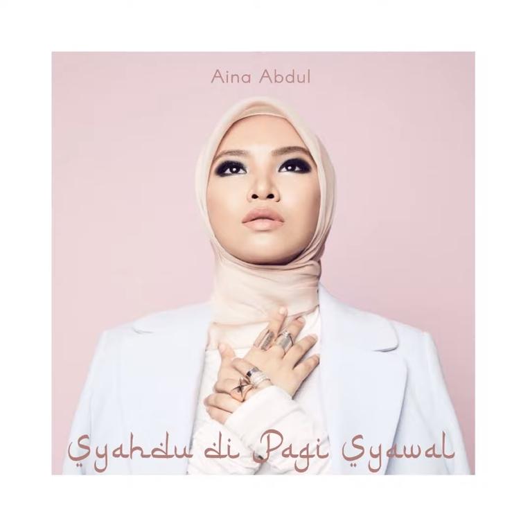 Lirik Lagu Aina Abdul - Syahdu Di Pagi Syawal