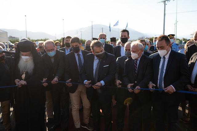 Εγκαίνια νέου κλειστού κολυμβητηρίου Άργους παρουσία των υπουργών Αυγενάκη και Ταγαρά