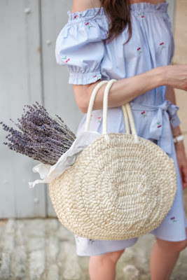 ilaria fatone - slow-living outdoor - lavander basket