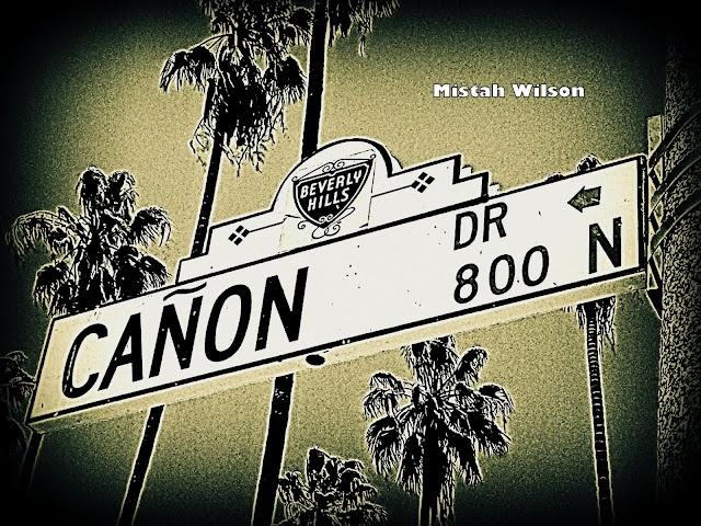 Cañon Drive, Beverly Hills, California by Mistah Wilson