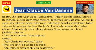 Komik Fıkralar - Temel Fıkraları - Jean Claude Van Damme - Komikler Burada