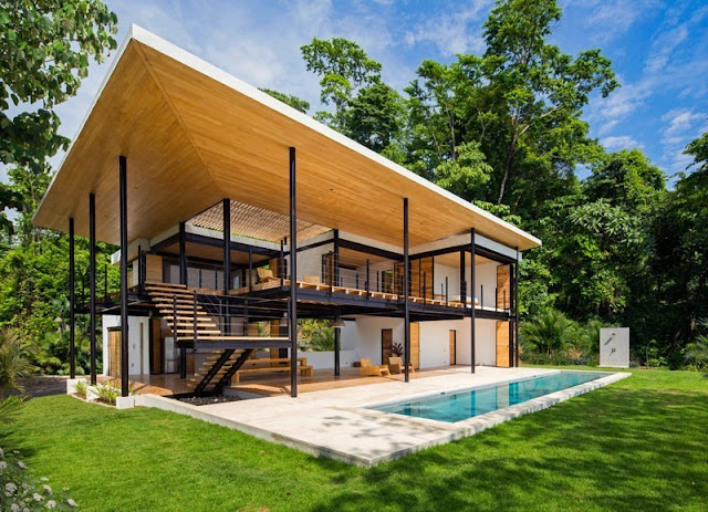 Open Concepts On Tropical Home Design It's Unique