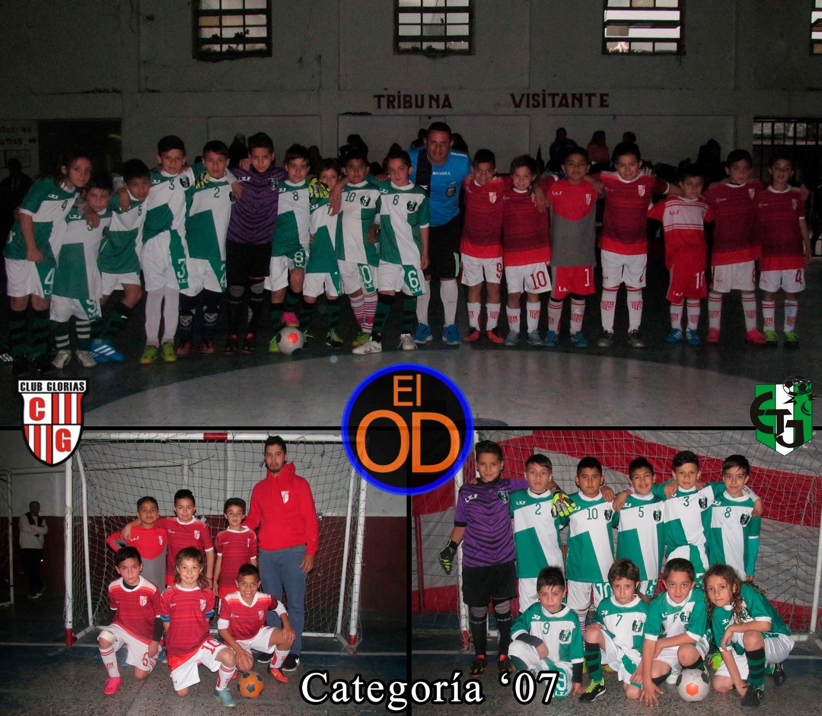 El Olimpo 2016: ACT - Fecha 18A: Glorias c. Talar Jrs 2007
