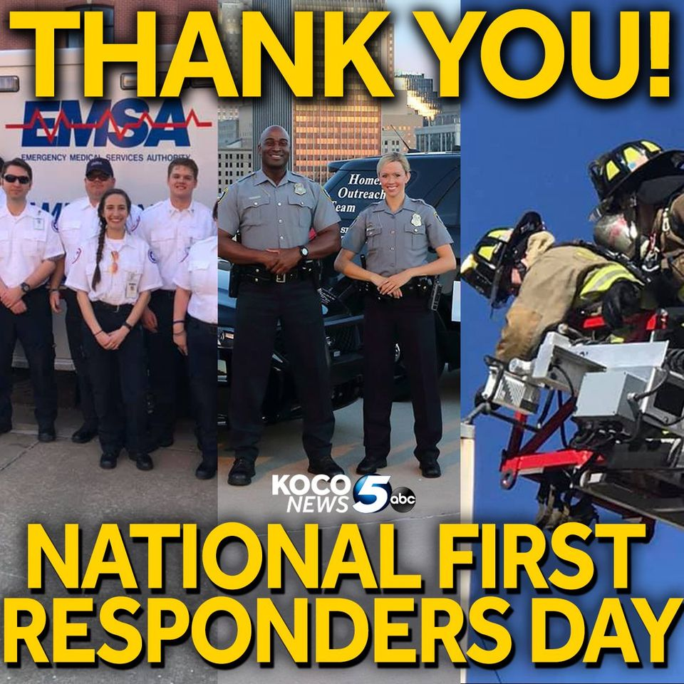 National First Responders Day Wishes Images download